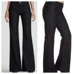 7 for  All Mankind Ginger Flare jeans 29 dark wash